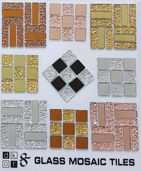 Dkor8 Glass Mosiac Tiles